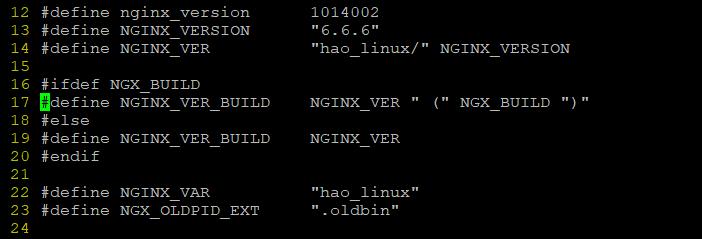 nginx修改web显示名称,nginx隐藏版本号