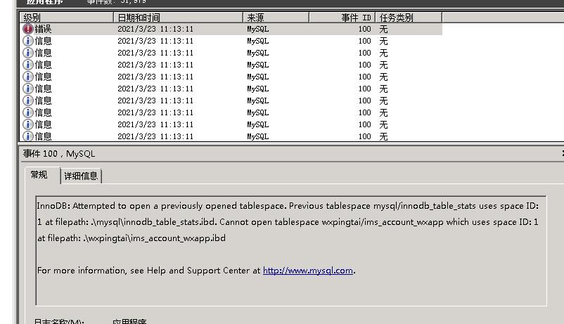 mysql数据库innodb表损坏无法启动的解决办法