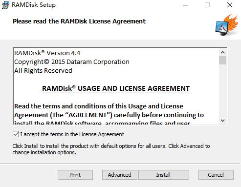 使用RAMDisk软件将内存转换为虚拟磁盘,提升mysql临时表文件写入性能
